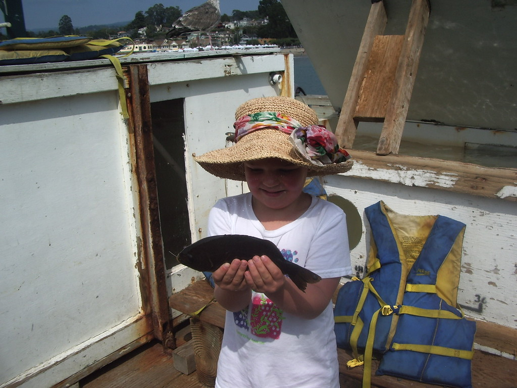 Haley Fishing, June 26, 2011